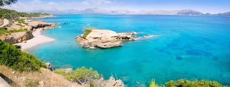 Alcudia Mallorca Playa de S Illot la Victoria turquoise beach Balearic Majorca Island