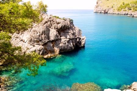 Sa Calobra Escorca plage à Majorque Iles Baléares d'Espagne