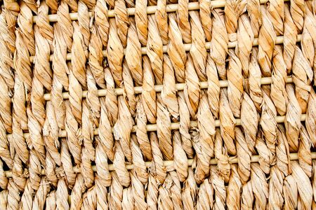 basketry traditional texture of twisted dried reeds photo