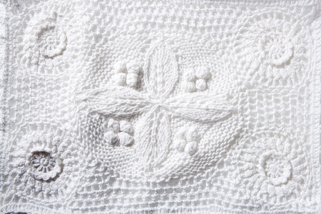 tricot: cotton tricot pique white fabric macro texture background Stock Photo