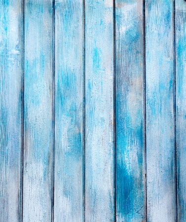 aged blue painted grunge wood texture background Stock Photo - 10773024