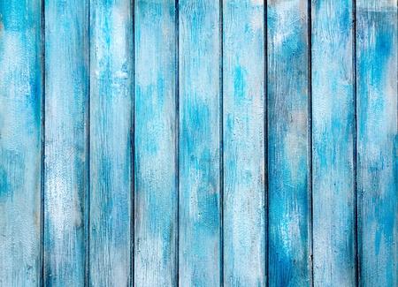 wooden pattern: blu dipinto di et� compresa tra grunge texture di sfondo in legno