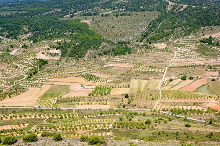 aras: Aras de los Olmos valley in Valencia province Spain