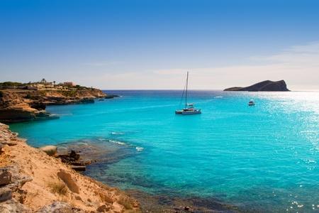 antonio: Ibiza cala Conta Conmte in San Antonio turquoise sunset