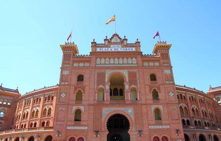 bullfight: Madrid bullring Las Ventas Plaza de toros Monumental