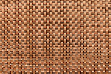 hand woven: abstract brown tablecloth background texture pattern Stock Photo