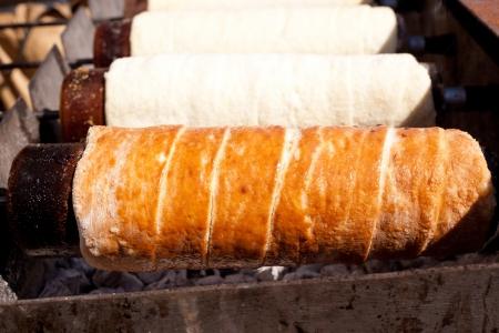 romanian:  Romanian curly cake that called Kurtoskalac