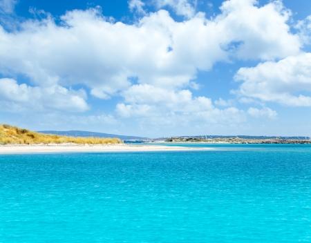 Formentera island in Espalmador Freu Poco in es Trucadors Adolf Reklamní fotografie