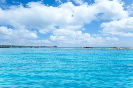 adolf: Formentera island in Espalmador Freu Poco in es Trucadors Adolf Stock Photo