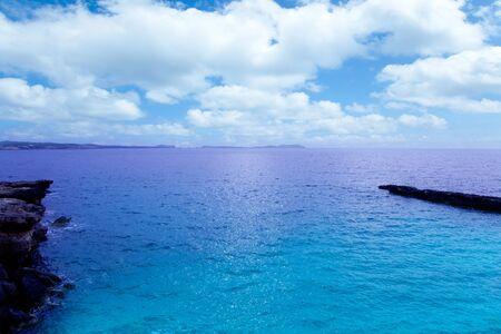 sant: Ibiza San antonio Abad Sant Antoni de Portmany mediterranean sea Stock Photo