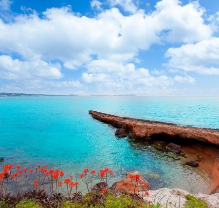 antonio: Ibiza San antonio Abad Sant Antoni de Portmany mediterranean sea Stock Photo
