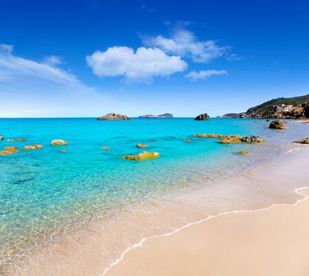 ibiza: Aiguas Blanques Agua blanca Ibiza beach with turquoise water