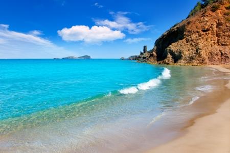 ibiza: Aiguas Blanques Agua blanca Ibiza beach with turquoise water