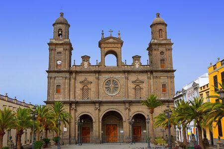 neoclassic: Cathedral of Santa Ana in Las Palmas de Gran Canaria