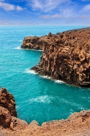 los hervideros: Lanzarote Los hervideros like boiling water caves in canary Islands