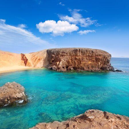 lanzarote: Lanzarote El Papagayo Playa Beach in Canary Islands