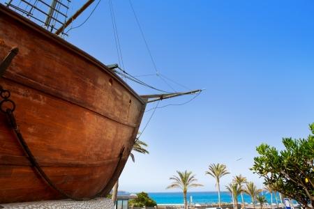 Barco de la virgen à Santa Cruz de La Palma des îles Canaries