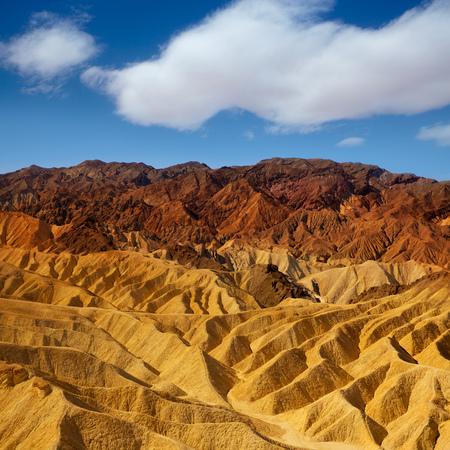 mojave: Death Valley National Park California Zabriskie point eroded mudstones