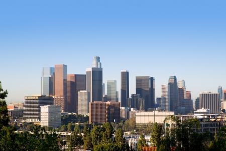 los angeles: Downtown LA Los Angeles skyline cityscape California