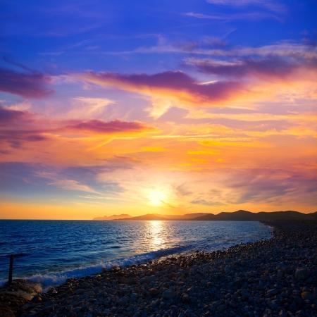 vedra: Ibiza Cap des Falco beach sunset and Es Vedra in Sant Josep Balearic Islands