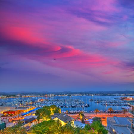 antoni: Ibiza San Antonio Abad Sant Antoni Portmany sunset in Balearic islands