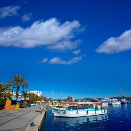 antonio: Ibiza san Antonio Abad de Portmany marina port in Balearic Islands of spain