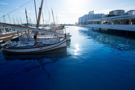 antonio: Ibiza San Antonio Abad Sant Antonio de Portmany marina at Balearic islands