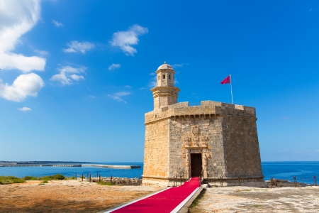 Ciutadella Castell de Sant Nicolas Castillo San Nicolas in Ciudadela Baleari Islands
