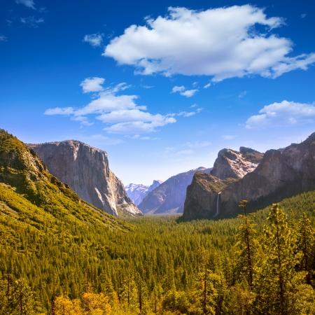 yosemite national park: Yosemite el Capitan and Half Dome in California National Parks US