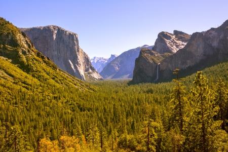 Yosemite el Capitan and Half Dome in California National Parks US photo