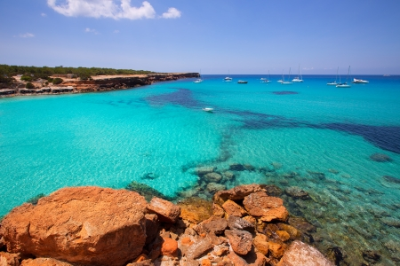 ibiza: Formentera Cala Saona beach one of the best beaches in world near Ibiza