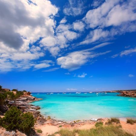 formentera: Formentera Cala Saona beach one of the best beaches in world near Ibiza