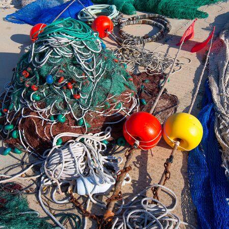 fisher: Formentera Balearic Islands fishing tackle nets longliner trawler trammel