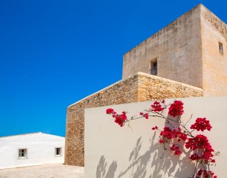 formentera: Formentera Sant Francesc San Francisco Javier church in Balearic Islands