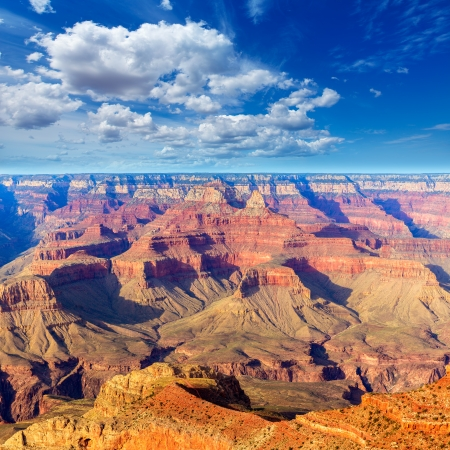 geologic: Arizona Grand Canyon National Park Mother Point in USA Stock Photo