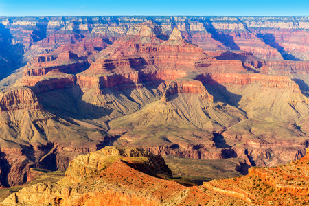 grand canyon national park: Arizona Grand Canyon National Park Mother Point in USA Stock Photo