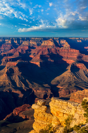 arizona sunset: Arizona sunset Grand Canyon National Park Yavapai Point USA