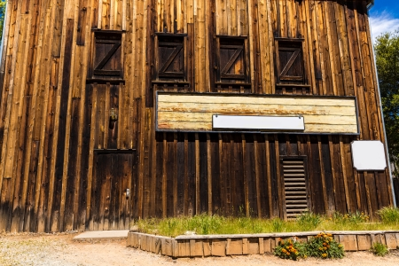 western town: California Columbia a real old Western Gold Rush Town in USA