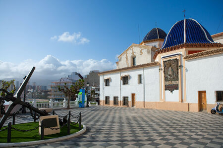 Benidorm San jaime church Alicante in balcon mediterraneo Spain photo