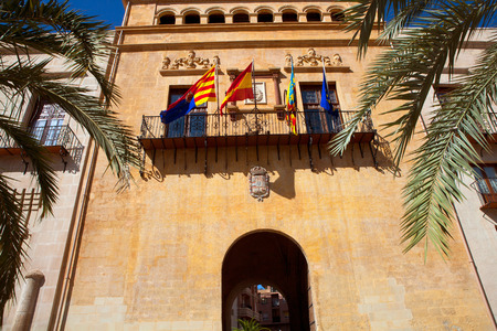 valencian: Elche Elx Alicante Ayuntamiento city town hall Valencian Community of Spain