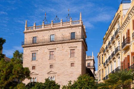 generalitat: Palau de la Generalitat Valenciana Palace in Valencia Spain