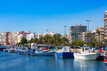 alicante: Alicante Santa Pola port marina from valencian Community at spain Stock Photo