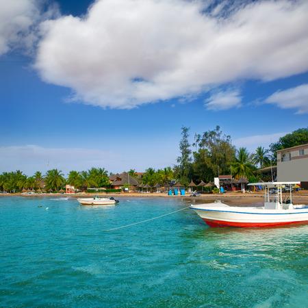 moored: Africa Saly Senegal hot spot of sailfish sport fishing near Dakar