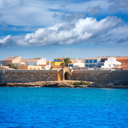valencian: Tabarca island in Alicante Valencian Community of Spain