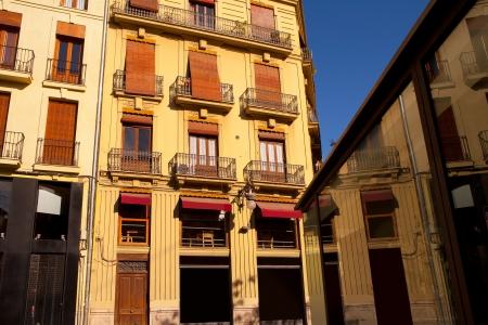 carmen: Valencia Placa Plaza del Tossal in Barrio del Carmen at Spain