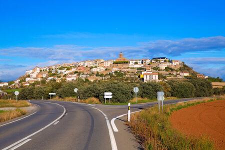 Berdun village in Huesca Aragon Pyrenees of Spain photo