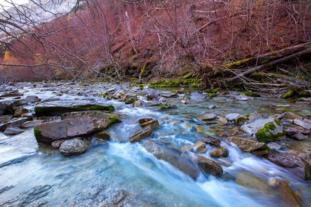 Arazas river Valle de Ordesa valley Pyrenees Huesca Aragon at Spain photo