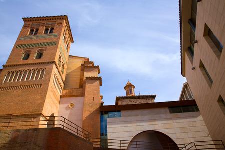 mudejar: Aragon Teruel Los Amantes mausoleum in San Pedro Mudejar church Spain Stock Photo