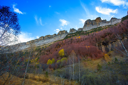 Faja de Pelay in Ordesa valley Pyrenees Huesca Aragon Spain photo