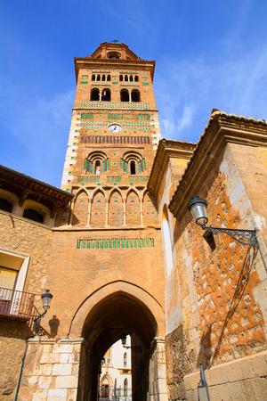 mudejar: Aragon Teruel Mudejar Cathedral Santa Mar�a Mediavilla